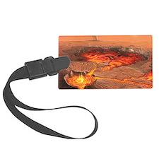 Martian volcanos Luggage Tag