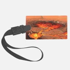 Martian volcanos Luggage Tag