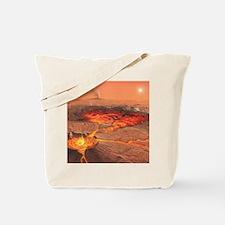 Martian volcanos Tote Bag