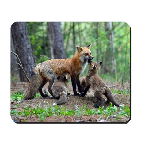note card -front Mousepad