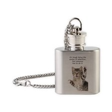 Wallet Flask Necklace