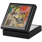 Marlyn monroe Square Keepsake Boxes