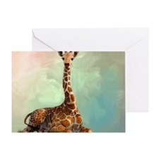 Giraffe Greeting Card