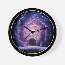 Milky Way galaxy Wall Clock