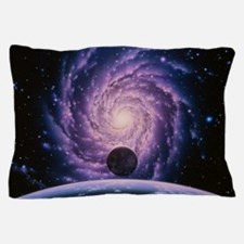 Milky Way galaxy Pillow Case