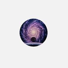 Milky Way galaxy Mini Button