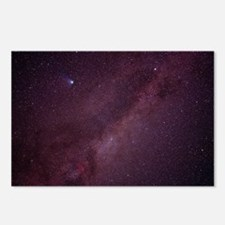Milky Way showing Comet H Postcards (Package of 8)