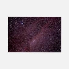 Milky Way showing Comet Halley Rectangle Magnet