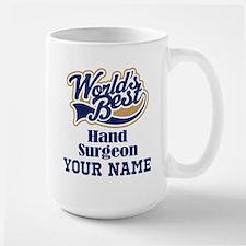 Hand Surgeon Personalized Gift Mugs