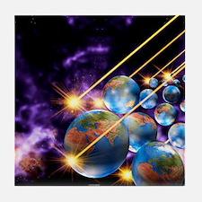 Multiple universes Tile Coaster