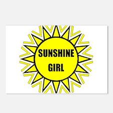 SUNSHINE GIRL Postcards (Package of 8)