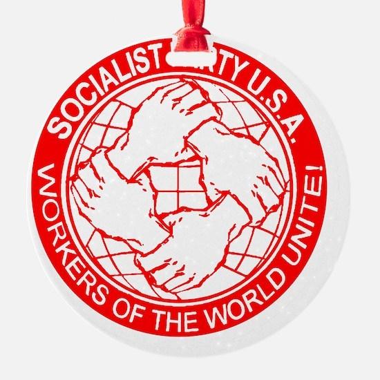 Socialist Party USA logo Ornament
