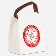 Socialist Party USA logo Canvas Lunch Bag