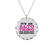 It's an Alto Thing Necklace