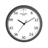 Attorney Wall Clocks