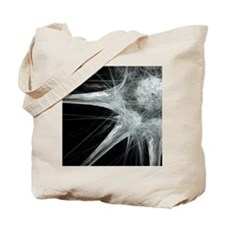 Nerve cell, abstract artwork Tote Bag