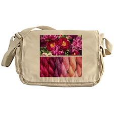 Cool Hand knitted Messenger Bag