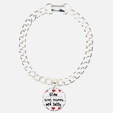 Gina Loves Mommy and Dad Bracelet