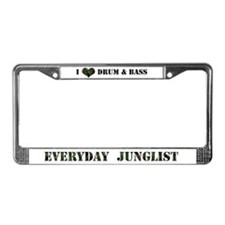 Everyday Junglist License Plate Frame