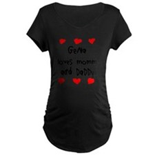 Gena Loves Mommy and Daddy T-Shirt