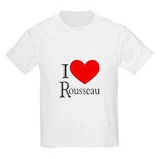 I Love Rousseau T-Shirt
