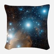 Orion's belt Woven Throw Pillow