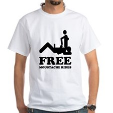 Free Moustache Rides Shirt
