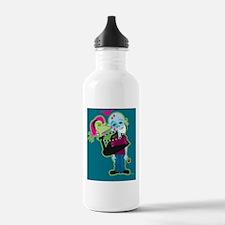 Zombie Valentine Water Bottle