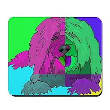 Colorblocked Lhasa Mousepad