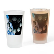 Phases of the Moon Drinking Glass