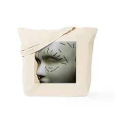Phrenology head Tote Bag