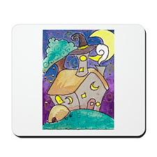 Wizard's Hut Mousepad