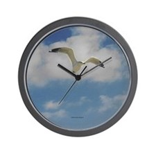 Soaring Seagull Wall Clock