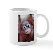 Baby Orangutan Look at Me Coffee Small Mugs