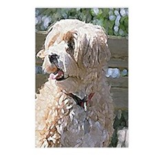 Lhasa Apso Painted Postcards (Package of 8)