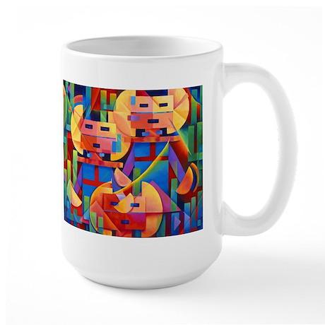 'Cactus Spirits' Large Mug