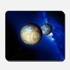 Pluto and Charon Mousepad