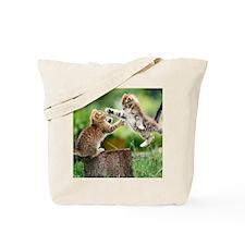 Ninja Kittens Tote Bag