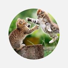 """Ninja Kittens 3.5"""" Button"""