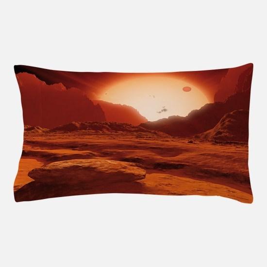Proxima Centauri planet, artwork Pillow Case