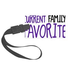 current family favorite Luggage Tag