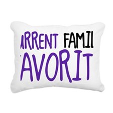 current family favorite Rectangular Canvas Pillow