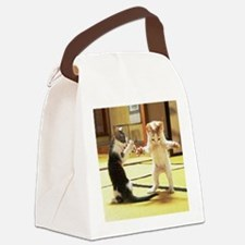 Kung Fu Kittens Canvas Lunch Bag