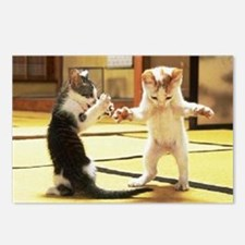 Kung Fu Kittens Postcards (Package of 8)