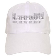 Periodic Table of the Elements Baseball Cap