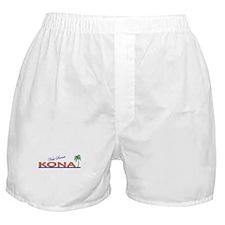 Visit Scenic Kona, Hawaii Boxer Shorts