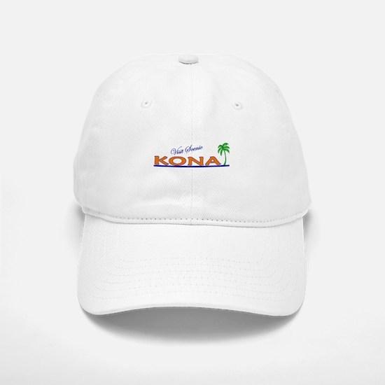 Visit Scenic Kona, Hawaii Baseball Baseball Cap