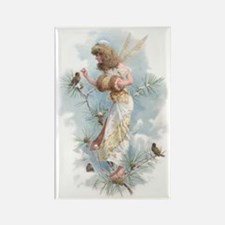 Winter Fairy Rectangle Magnet