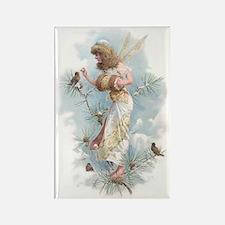 Winter Fairy Rectangle Magnet