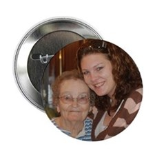 """Audrey and Granny 2.25"""" Button"""